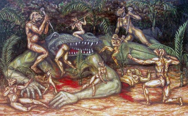 La teoría de los reptilianos ¿están entre nosotros? La_caceria_de_pluton