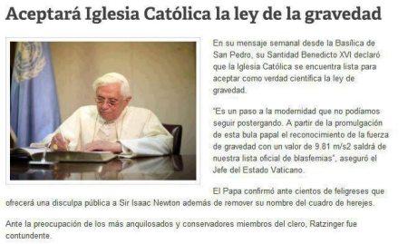 Vaticano-gravedad