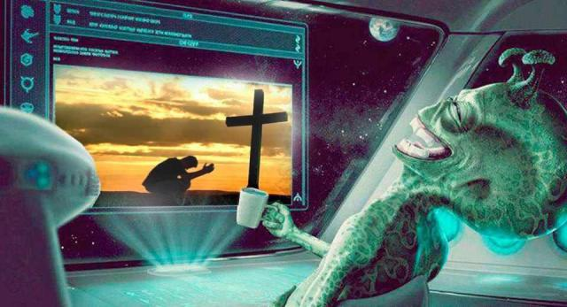 alien-riendose-religion