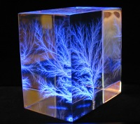 Figura de Lichtenberg en un dieléctrico