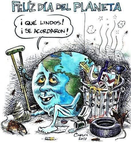 Feliz dia de la Tierra