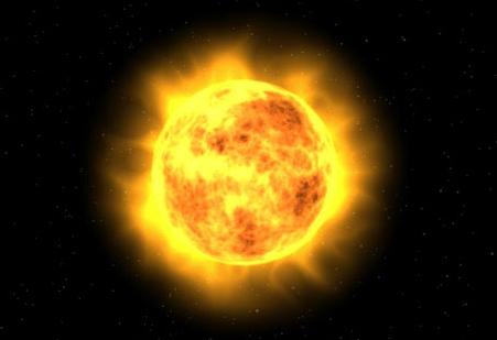El sol es frio for Donde esta el sol