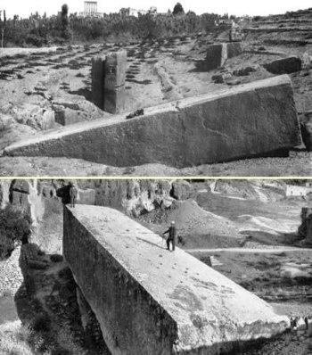 03df4 baalbekquarrymegalith - La construcción imposible de la Terraza de Baalbek, ¡a ver como la ciencia explica esto!