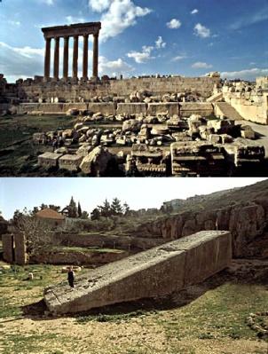 4ff84 baalbek - La construcción imposible de la Terraza de Baalbek, ¡a ver como la ciencia explica esto!