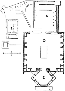 a9ced 250px grundplan af baalbeks ruiner nordisk familjebok - La construcción imposible de la Terraza de Baalbek, ¡a ver como la ciencia explica esto!