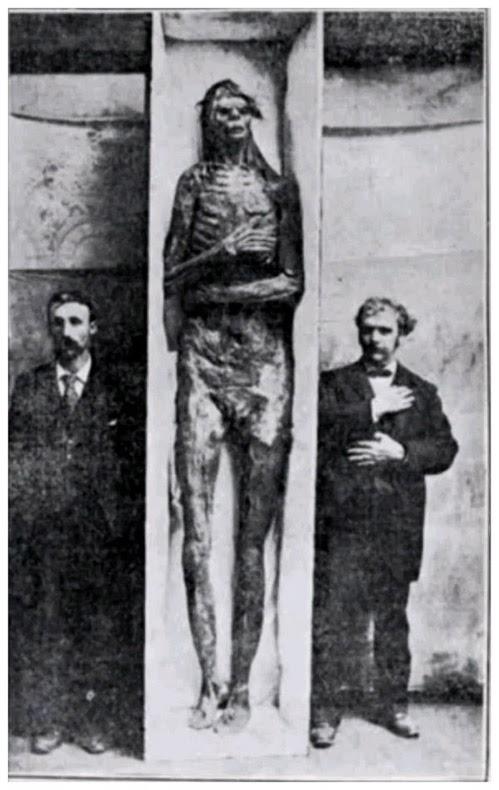 Los esqueletos desaparecidos de la antigua raza de gigantes que gobernaron América