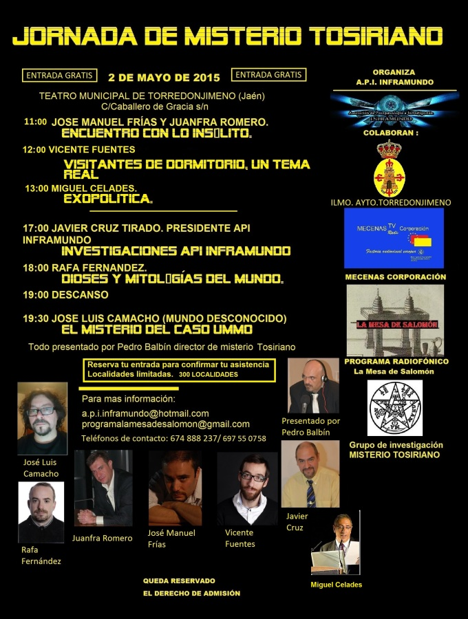 CONFERENCIAS 2 mayo