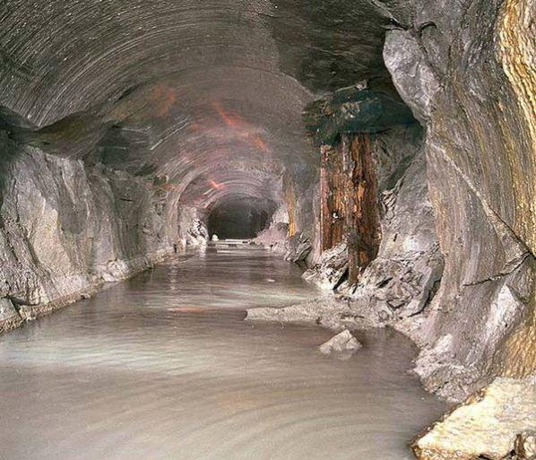 Un tunel en Rumania