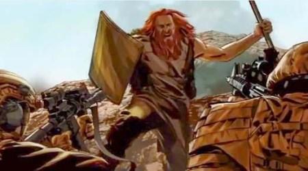 Confirmado: Soldados estadounidenses mataron a un gigante Nephilim cerca de una cueva en Afganistán