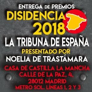 Premios DISIDENCIA 2018